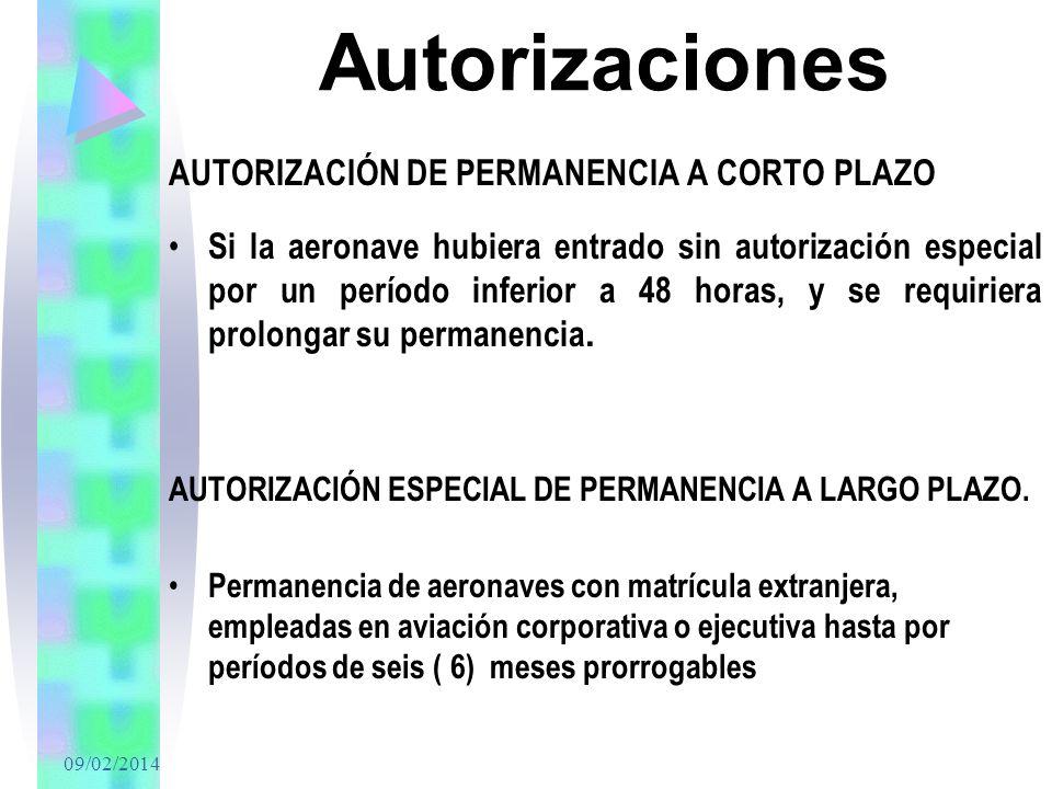 Autorizaciones AUTORIZACIÓN DE PERMANENCIA A CORTO PLAZO