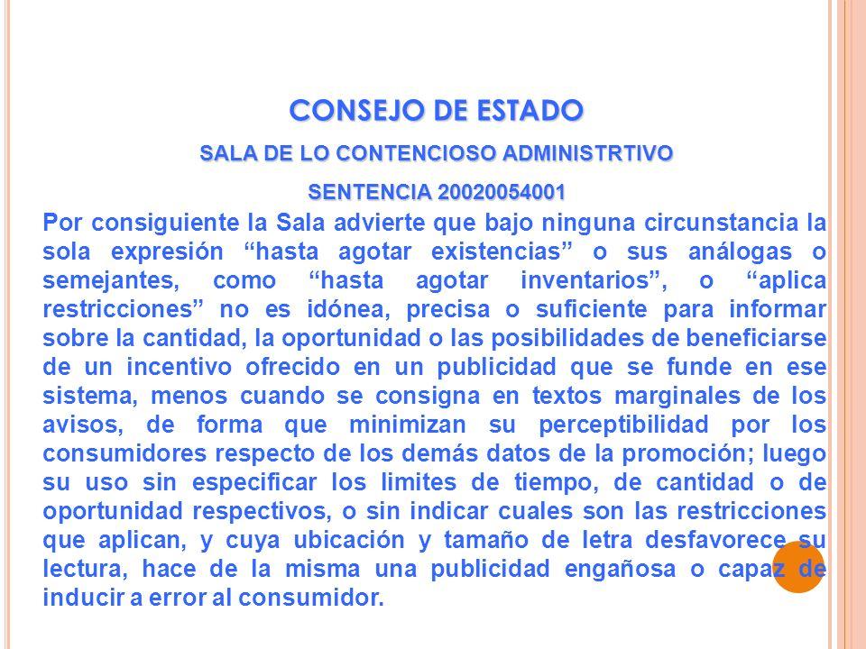 SALA DE LO CONTENCIOSO ADMINISTRTIVO