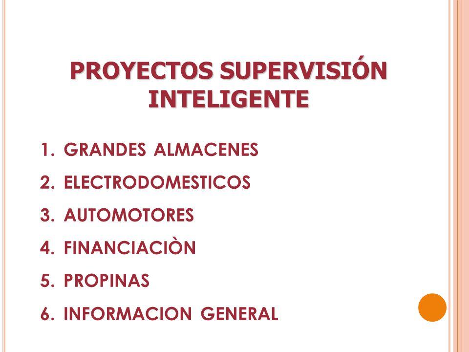 PROYECTOS SUPERVISIÓN INTELIGENTE