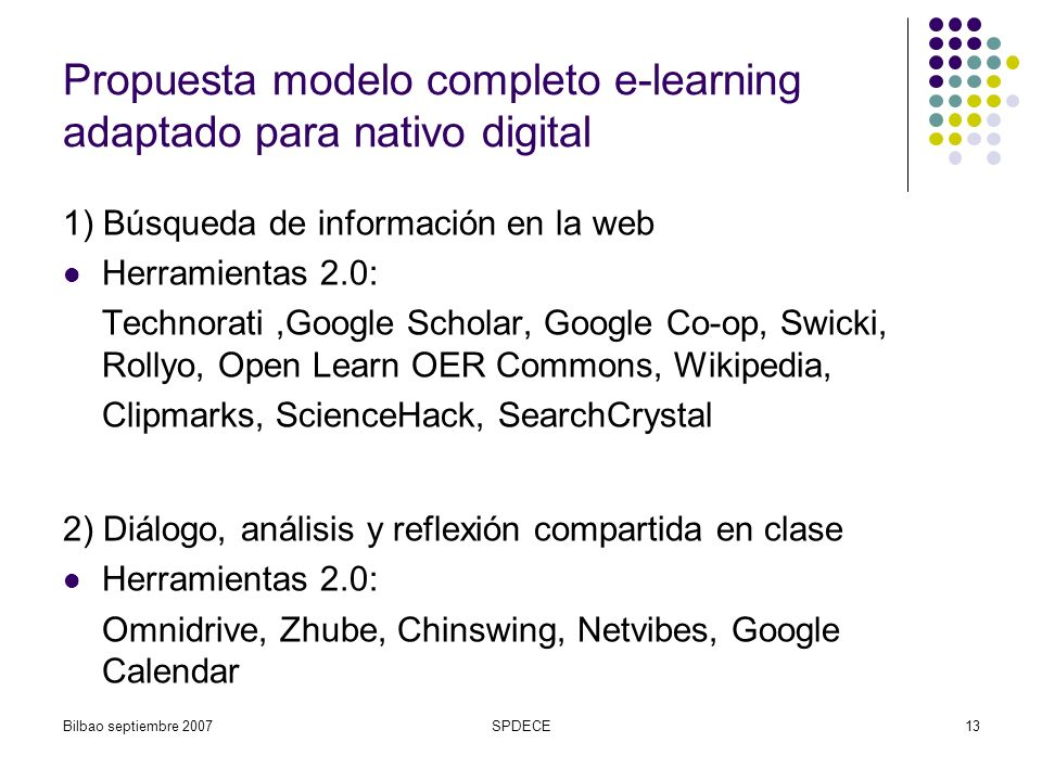 Propuesta modelo completo e-learning adaptado para nativo digital