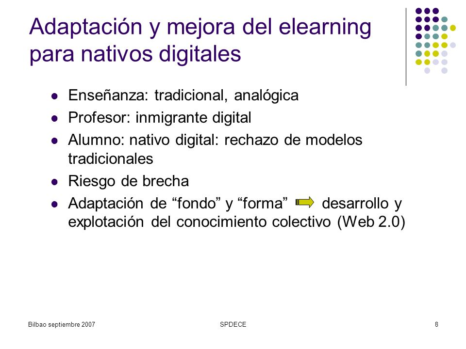 Adaptación y mejora del elearning para nativos digitales