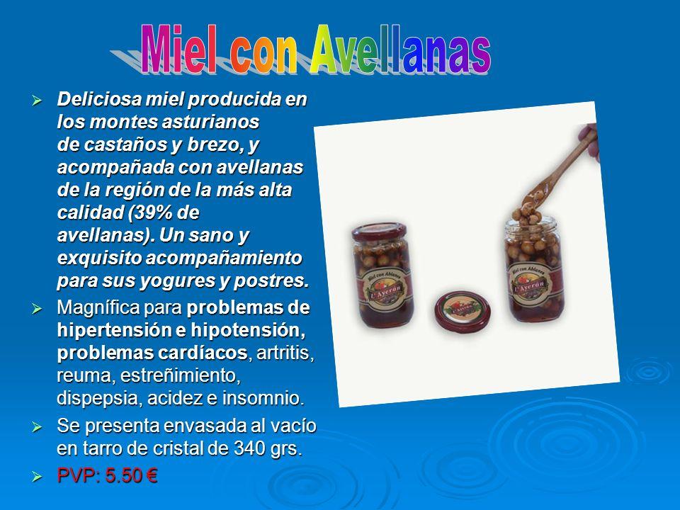 Miel con Avellanas
