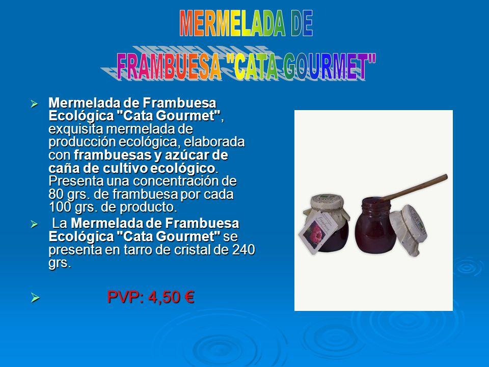 FRAMBUESA CATA GOURMET