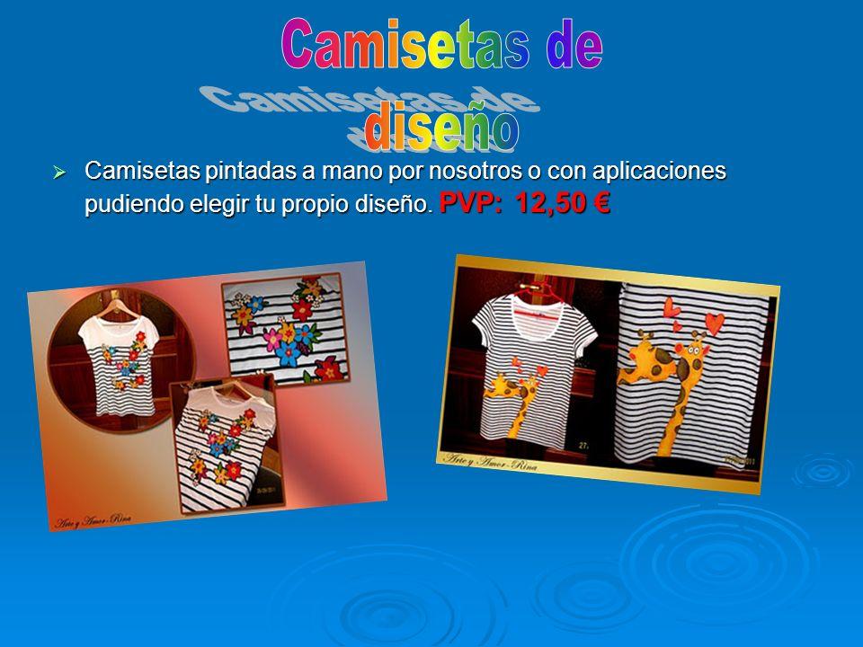 Camisetas de diseño.