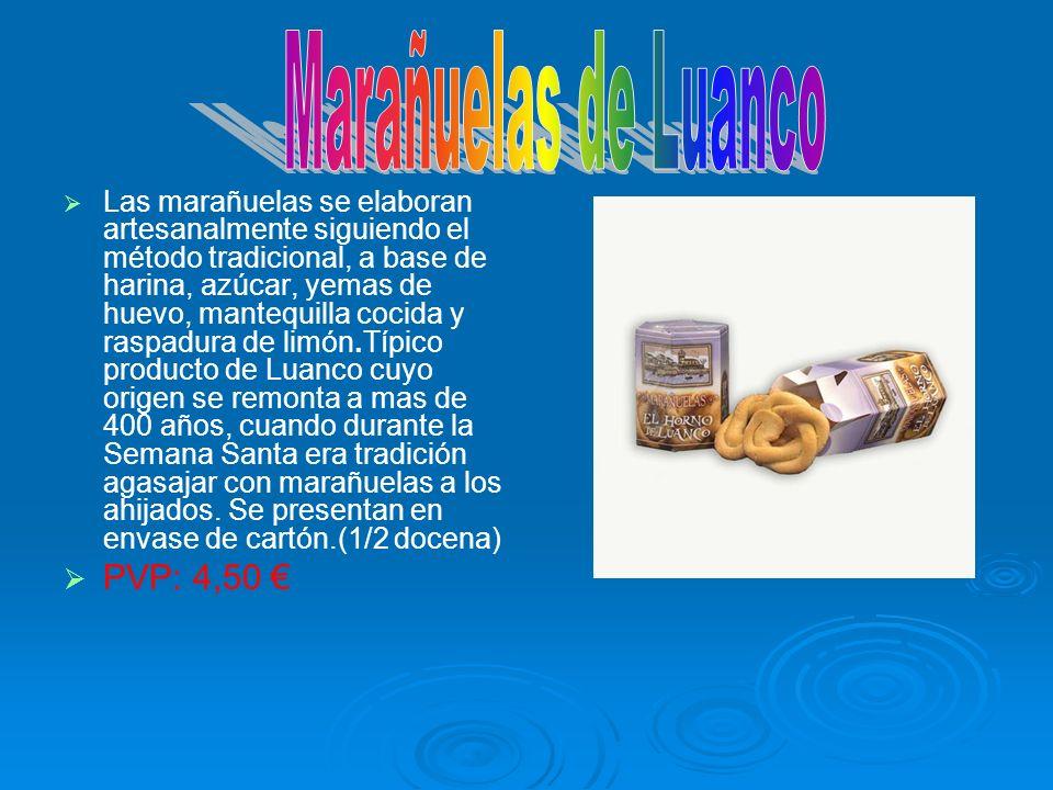 Marañuelas de Luanco PVP: 4,50 €