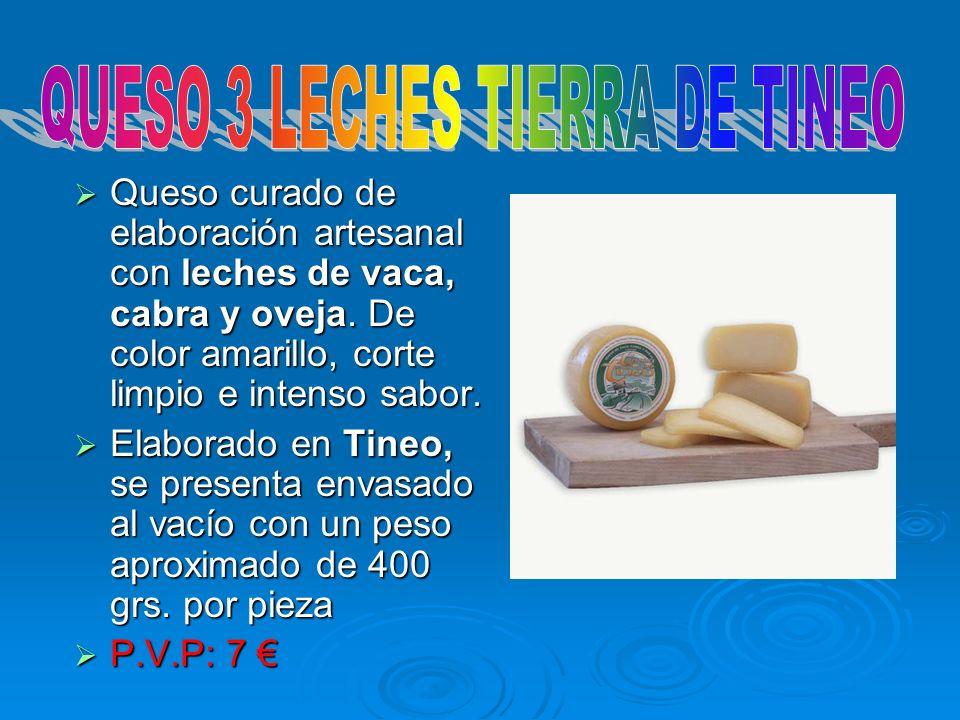 QUESO 3 LECHES TIERRA DE TINEO