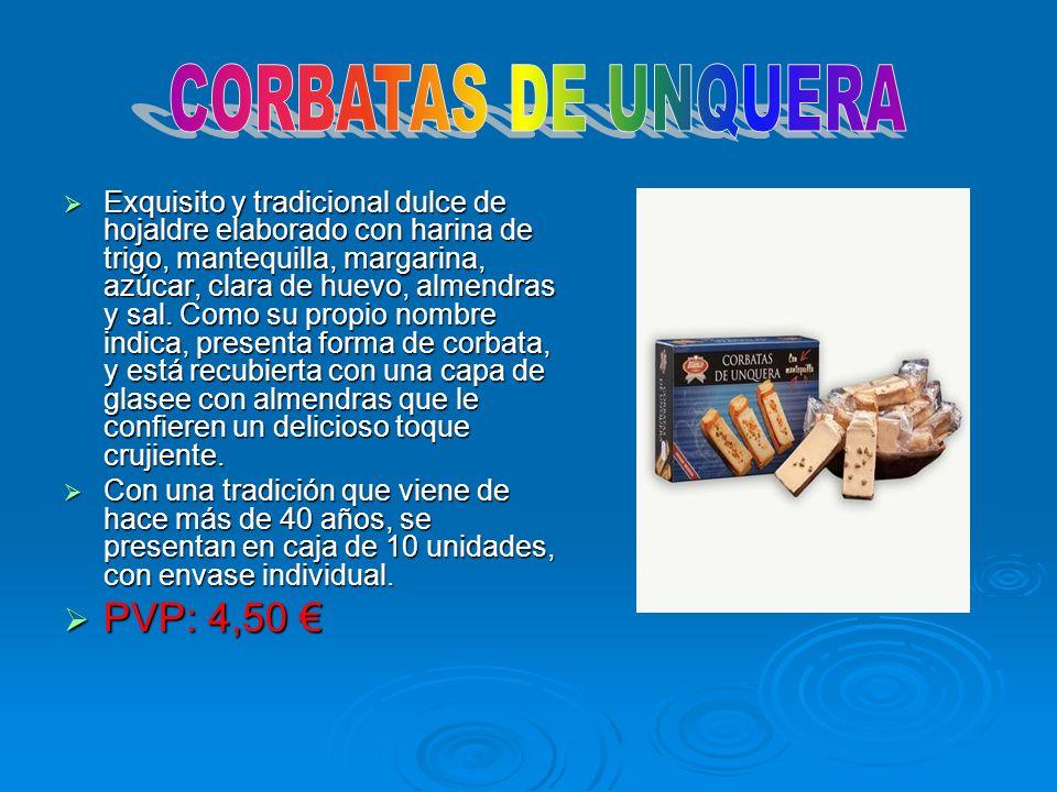 CORBATAS DE UNQUERA PVP: 4,50 €