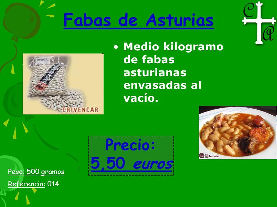 Fabas de Asturias Precio: 5,50 euros
