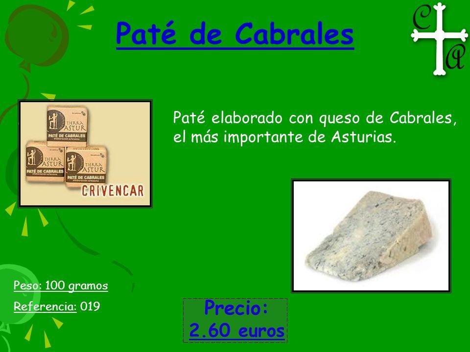 Paté de Cabrales Precio: 2.60 euros