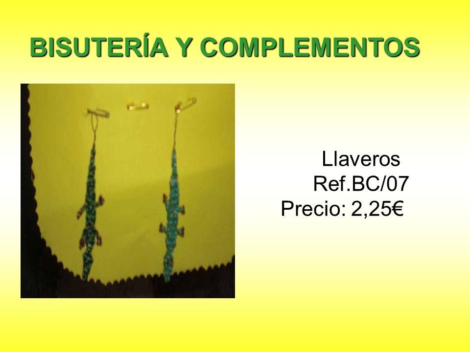 Llaveros Ref.BC/07 Precio: 2,25€