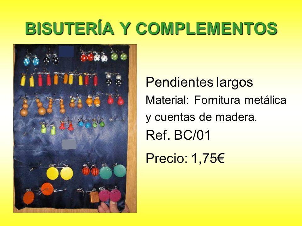 BISUTERÍA Y COMPLEMENTOS