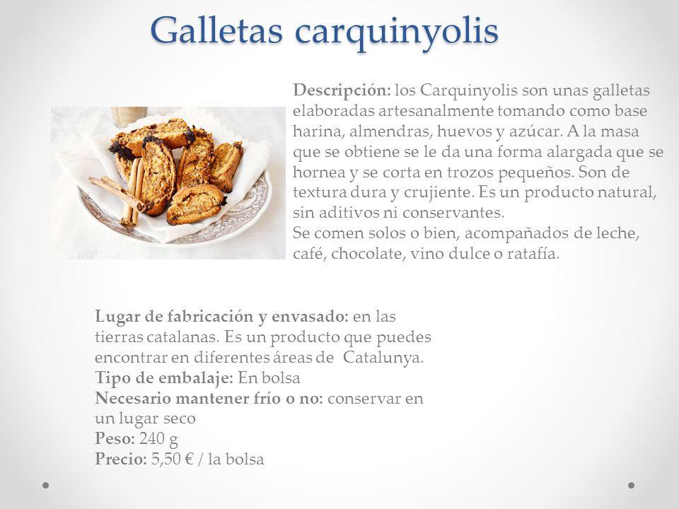 Galletas carquinyolis