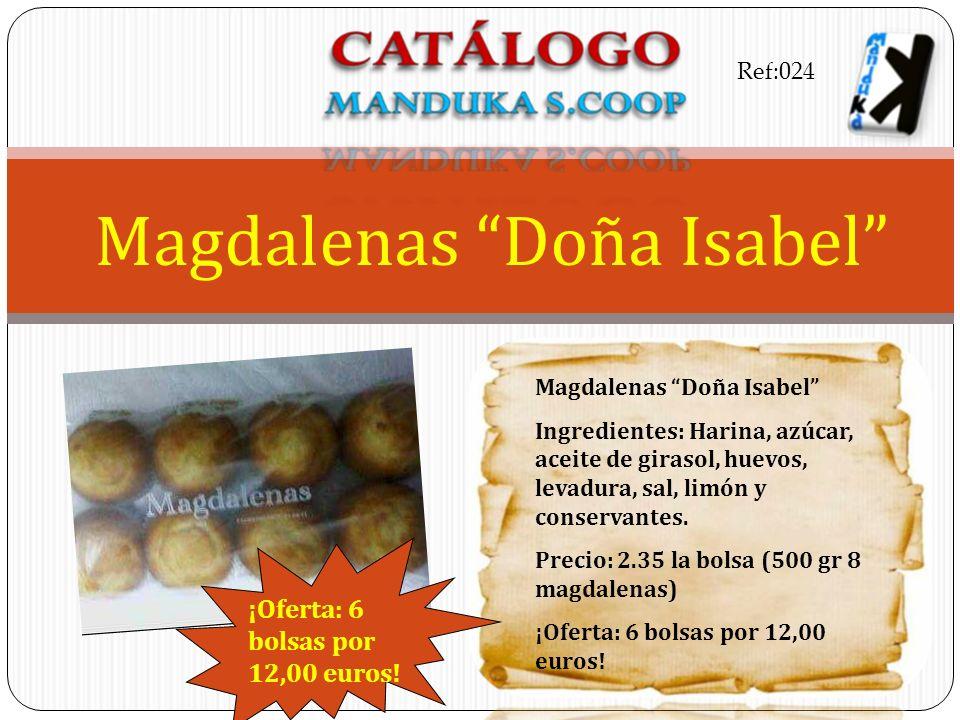 Magdalenas Doña Isabel