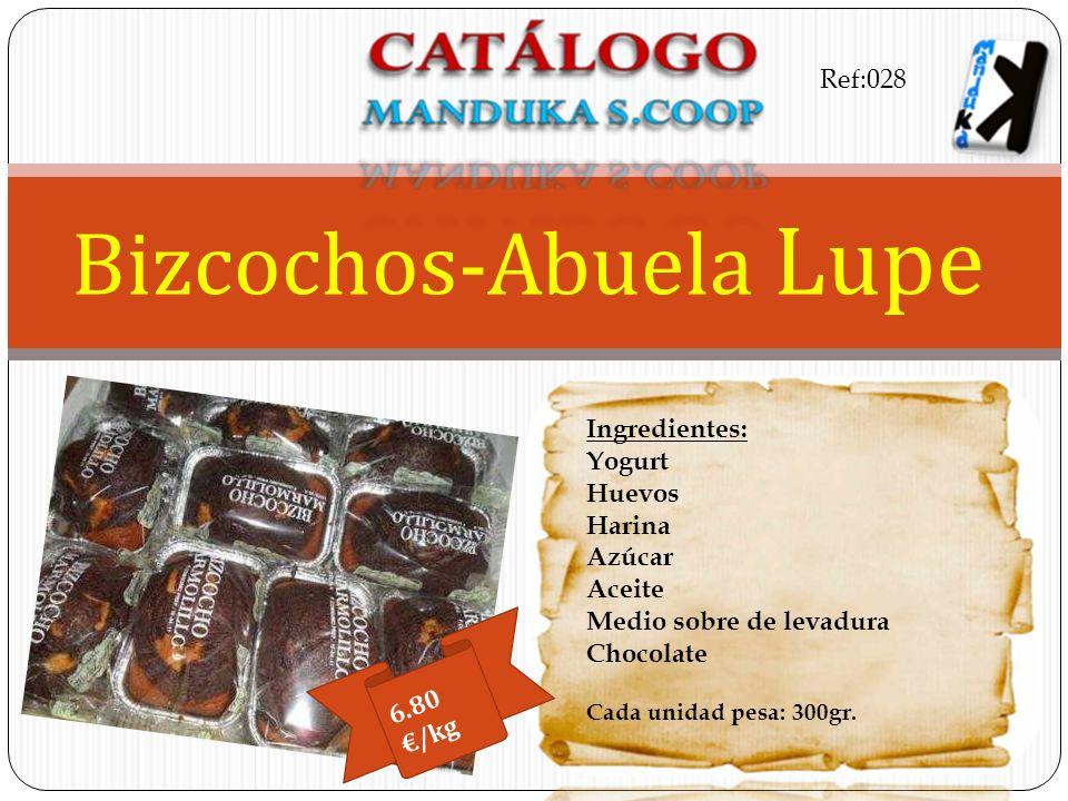 Bizcochos-Abuela Lupe