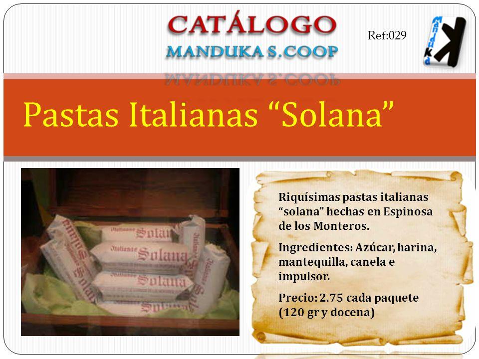 Pastas Italianas Solana