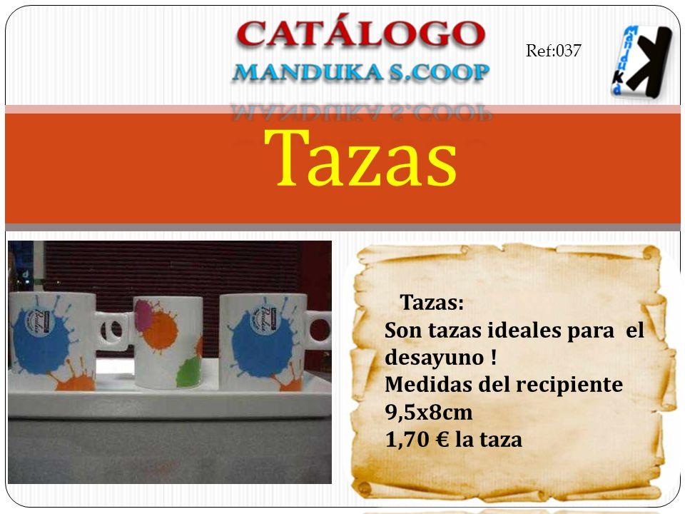 Tazas Tazas: Son tazas ideales para el desayuno !