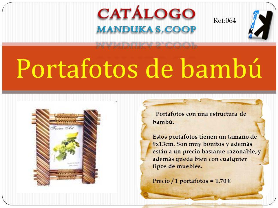 Portafotos de bambú Ref:064 Portafotos con una estructura de bambú.