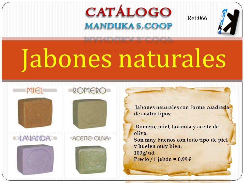 Jabones naturales Ref:066