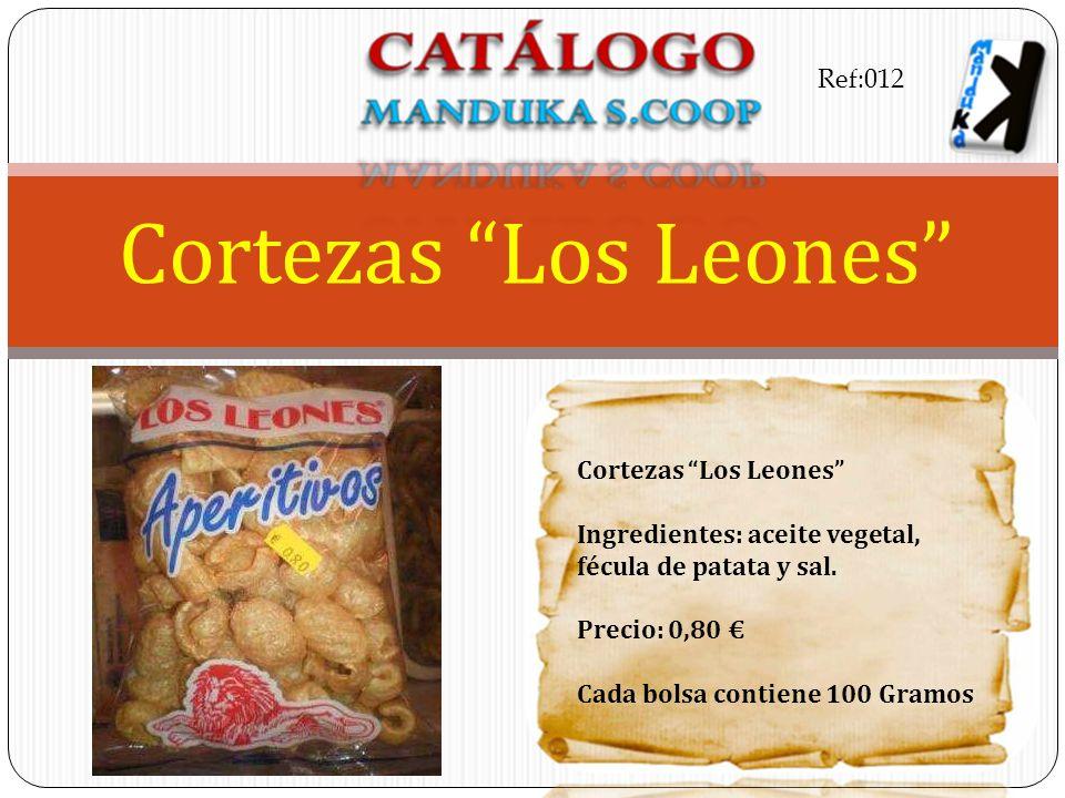 Cortezas Los Leones Ref:012 Cortezas Los Leones