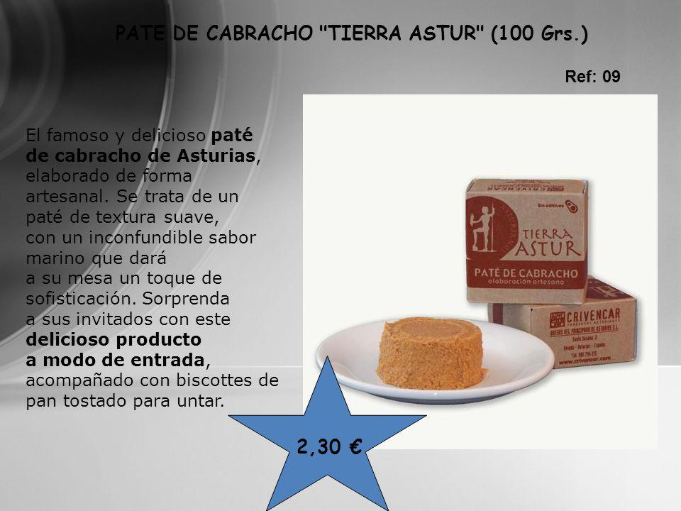 PATE DE CABRACHO TIERRA ASTUR (100 Grs.)