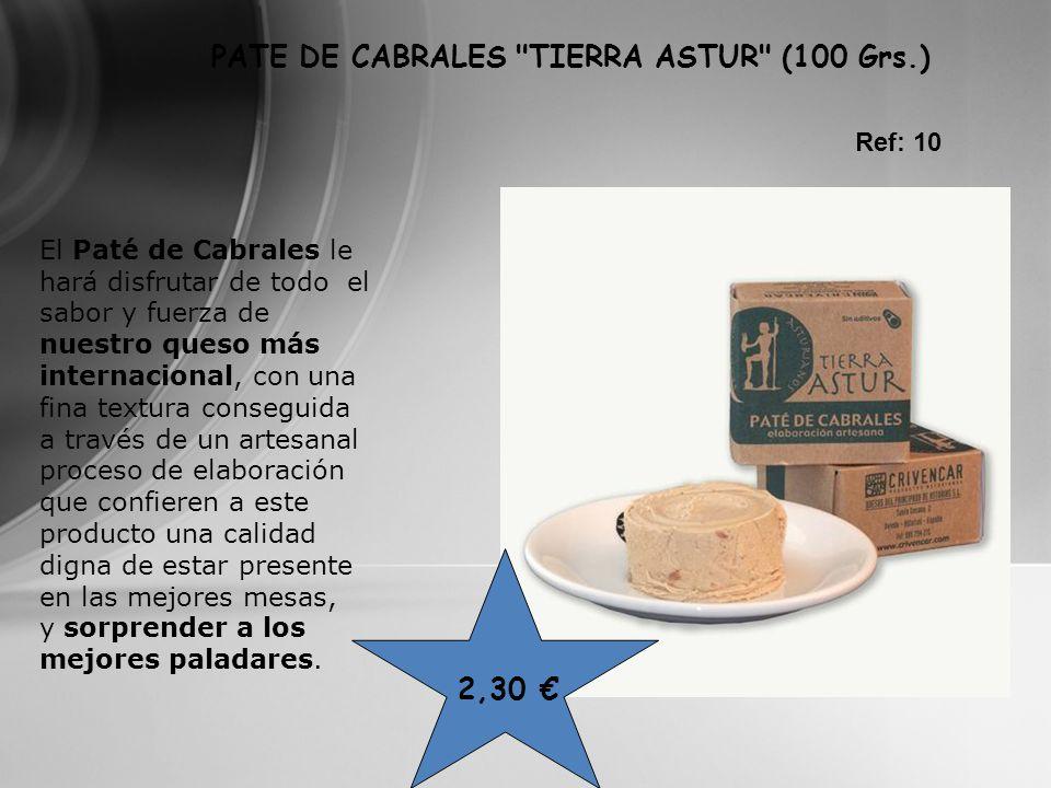 PATE DE CABRALES TIERRA ASTUR (100 Grs.)