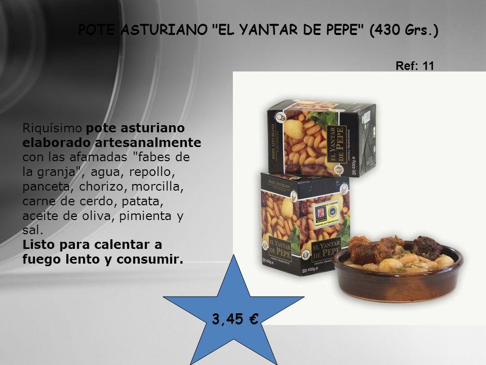 POTE ASTURIANO EL YANTAR DE PEPE (430 Grs.)