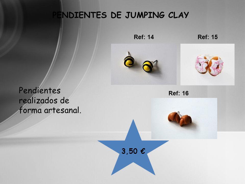 PENDIENTES DE JUMPING CLAY