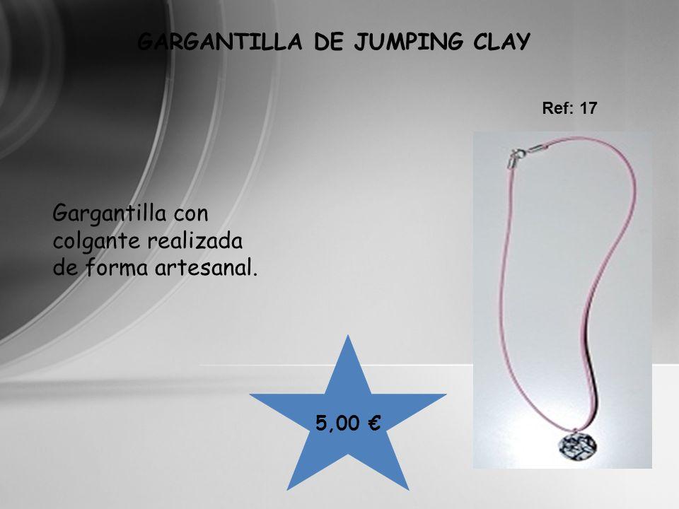 GARGANTILLA DE JUMPING CLAY