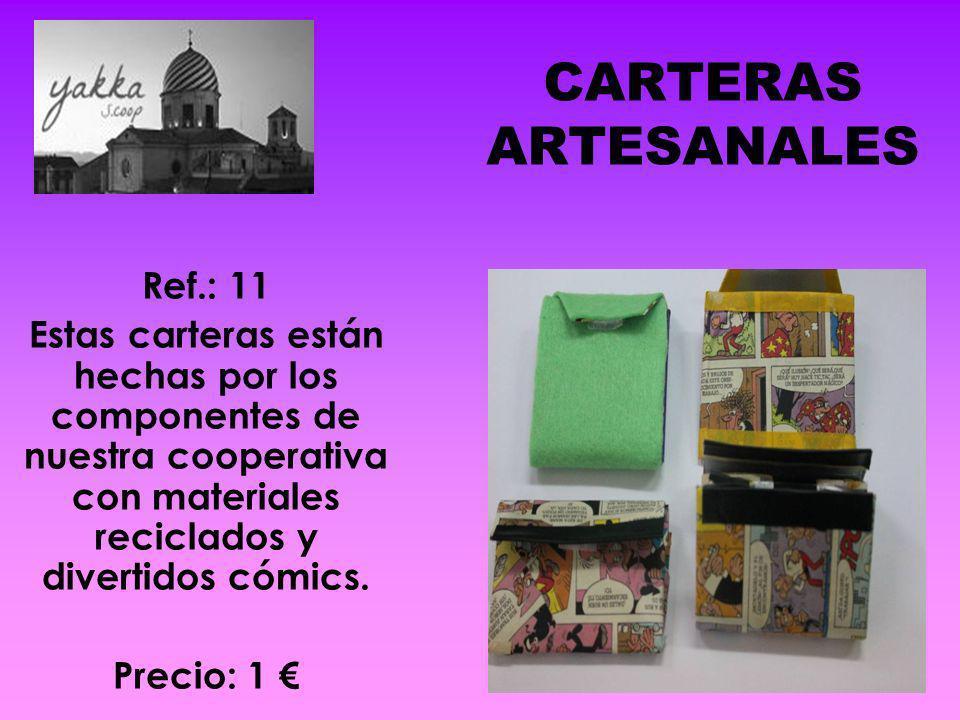 CARTERAS ARTESANALES Ref.: 11