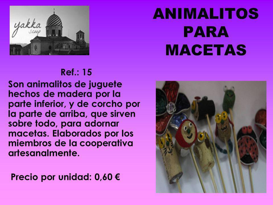 ANIMALITOS PARA MACETAS