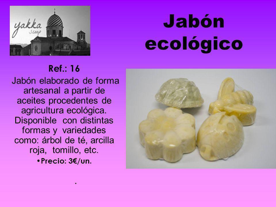 Jabón ecológico Ref.: 16.