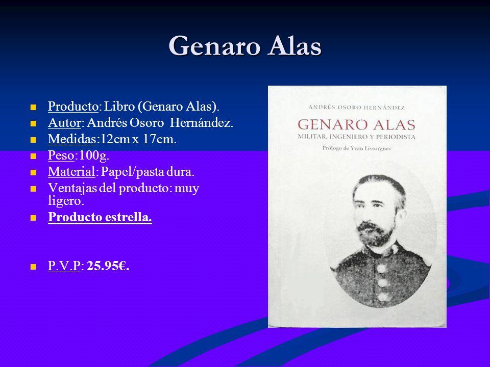 Genaro Alas Producto: Libro (Genaro Alas).