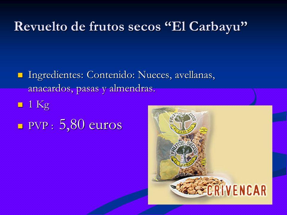 Revuelto de frutos secos El Carbayu