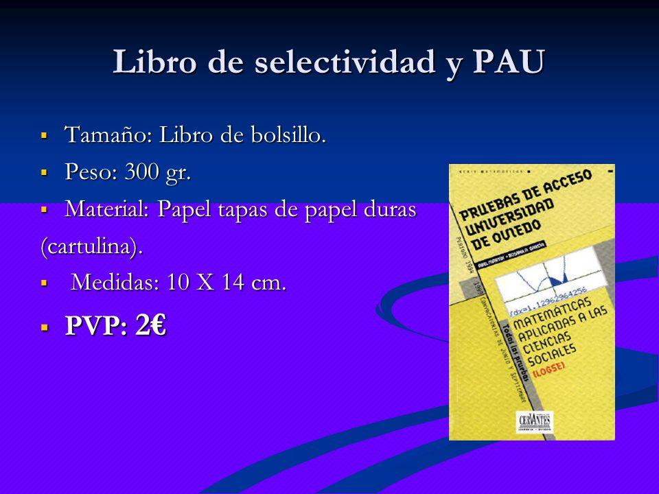 Libro de selectividad y PAU