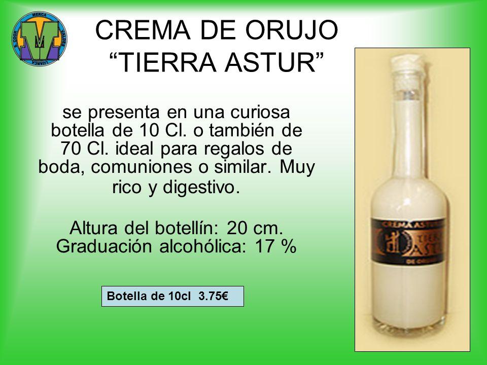 CREMA DE ORUJO TIERRA ASTUR