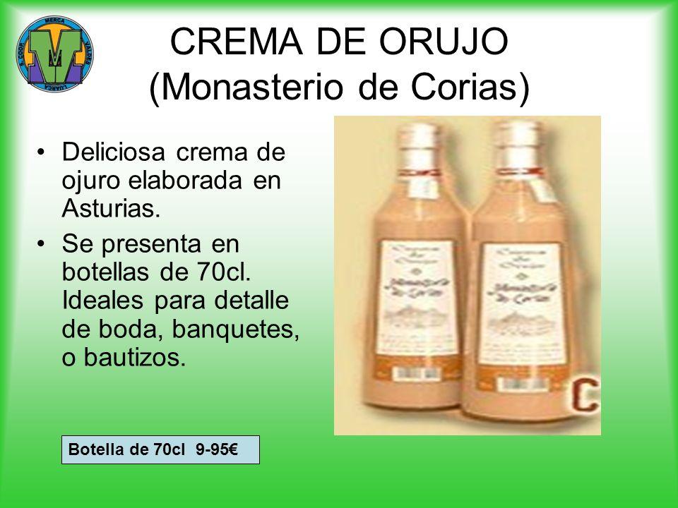 CREMA DE ORUJO (Monasterio de Corias)