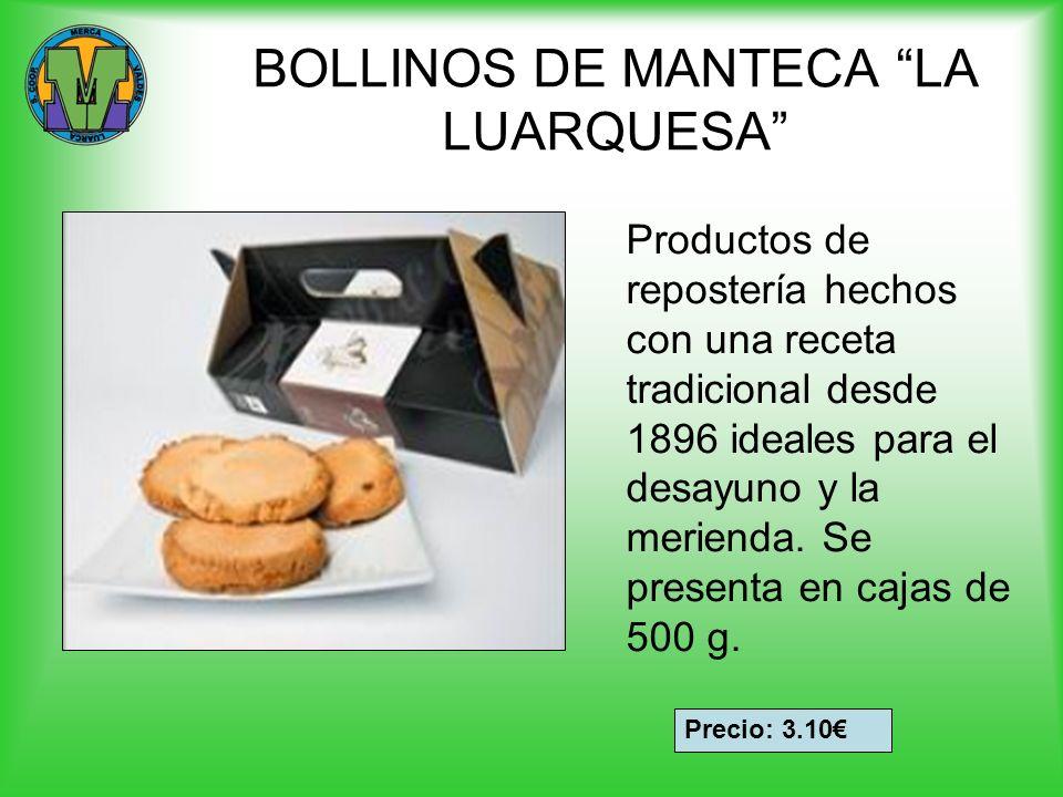 BOLLINOS DE MANTECA LA LUARQUESA