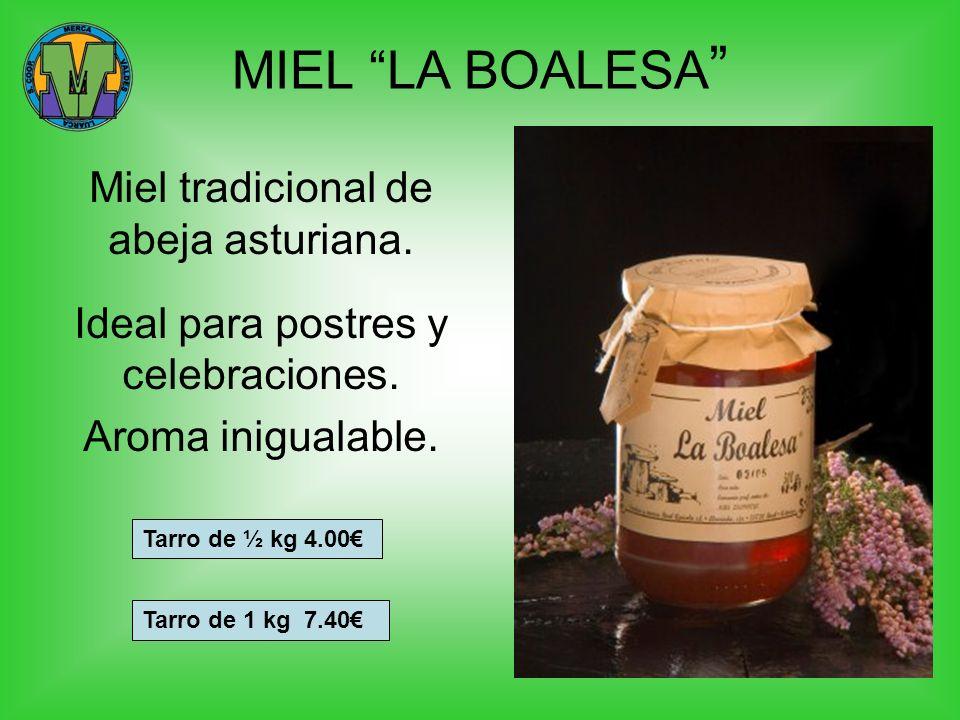 MIEL LA BOALESA Miel tradicional de abeja asturiana.