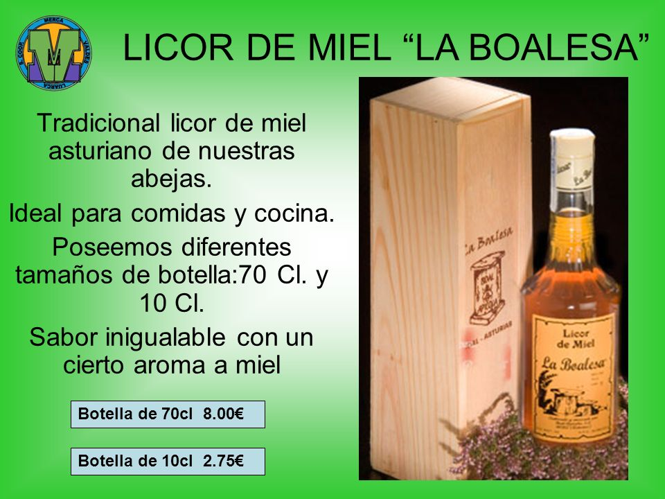 LICOR DE MIEL LA BOALESA
