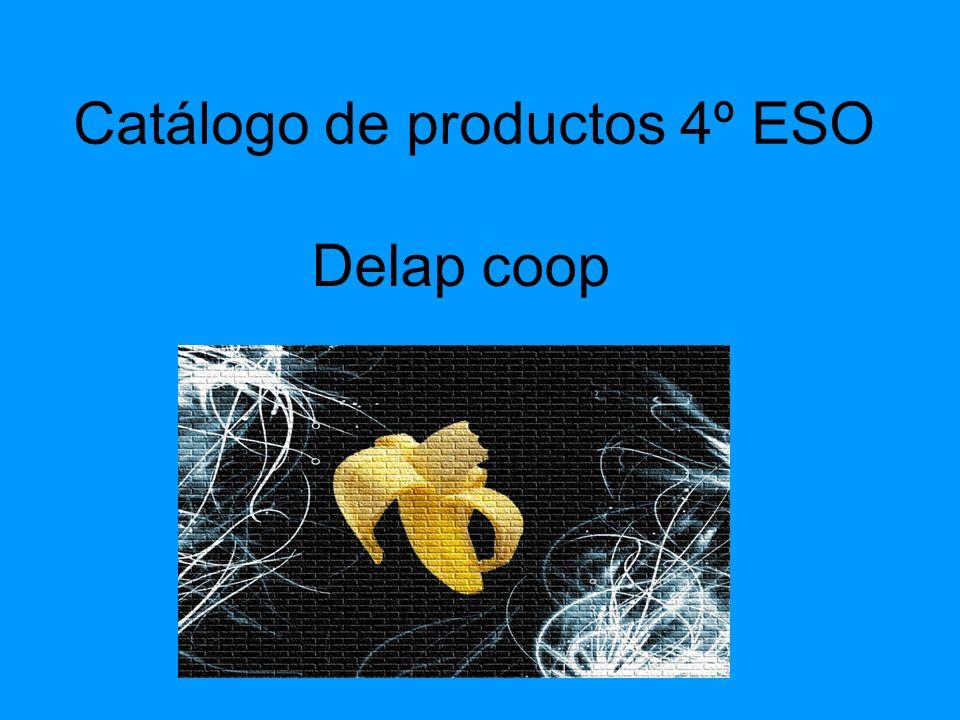 Catálogo de productos 4º ESO