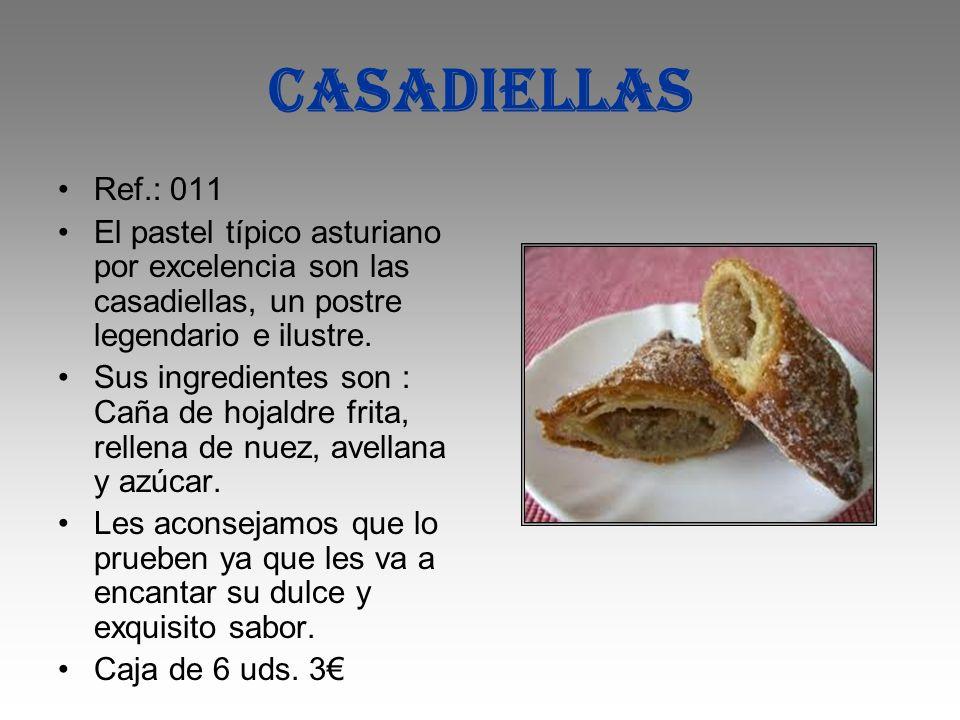 CASADIELLAS Ref.: 011. El pastel típico asturiano por excelencia son las casadiellas, un postre legendario e ilustre.