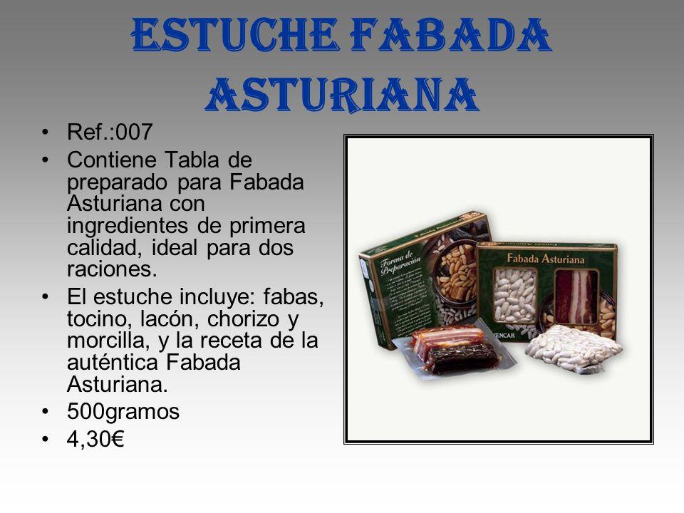 Estuche fabada asturiana