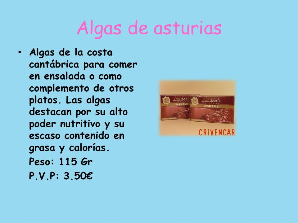 Algas de asturias
