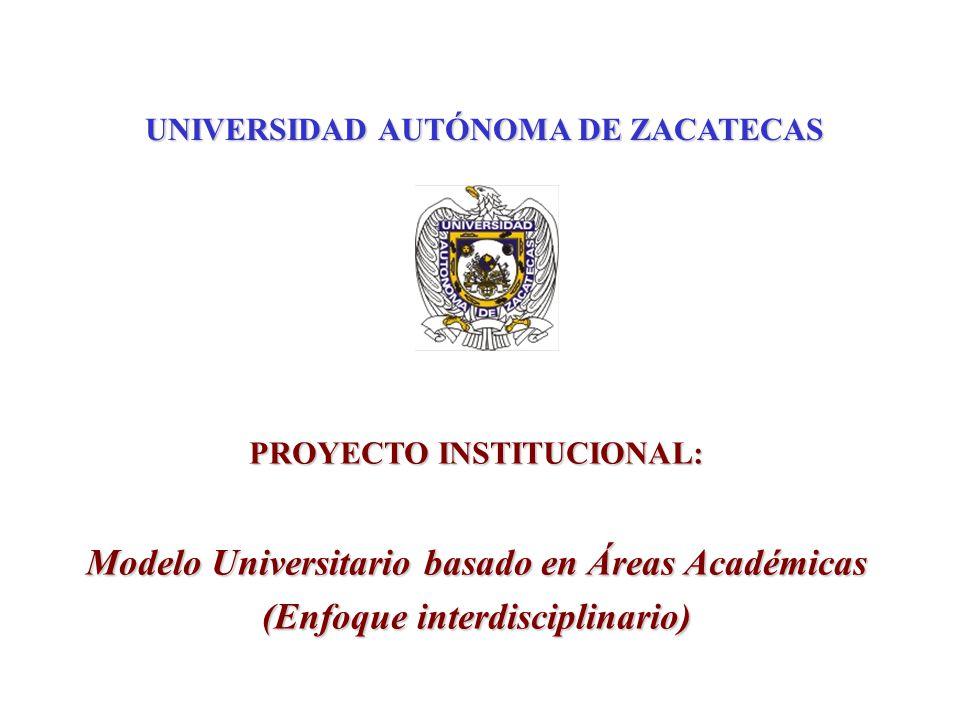 Modelo Universitario basado en Áreas Académicas