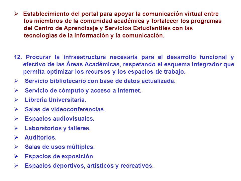 Establecimiento del portal para apoyar la comunicación virtual entre