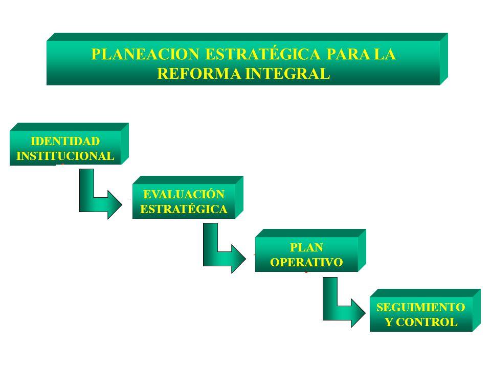 PLANEACION ESTRATÉGICA PARA LA REFORMA INTEGRAL