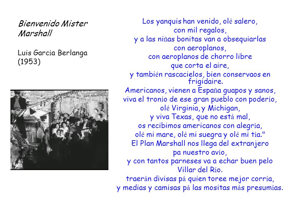 Bienvenido Mister Marshall Luis García Berlanga (1953)