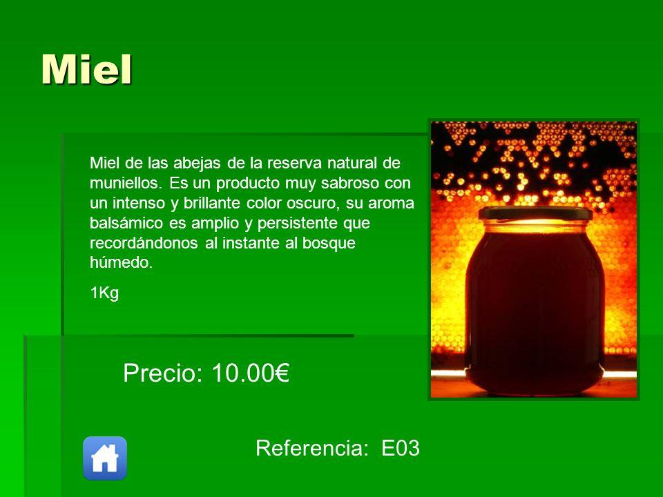 Miel Precio: 10.00€ Referencia: E03