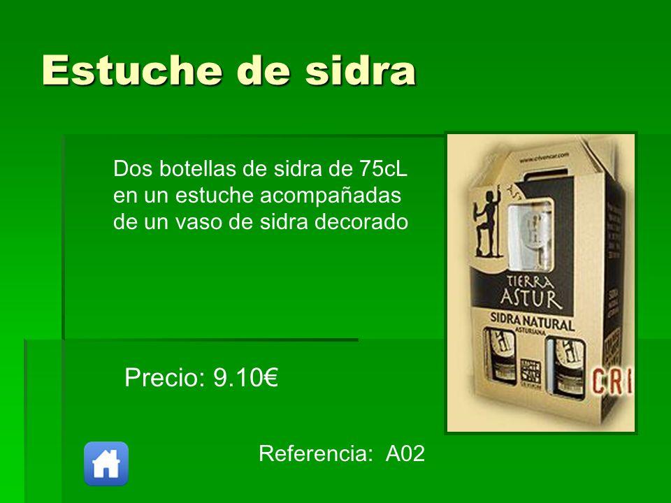 Estuche de sidra Precio: 9.10€