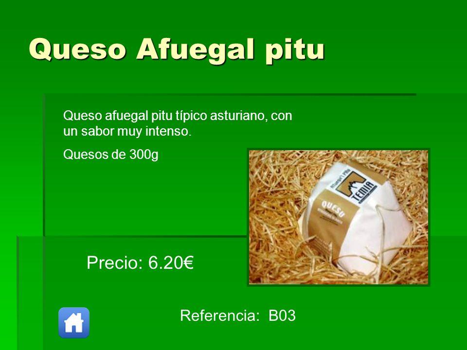 Queso Afuegal pitu Precio: 6.20€ Referencia: B03